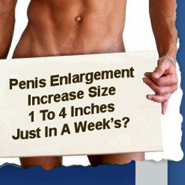 How To Grow A Huge Penis